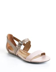 Naya Helena Leather Sandals Mocha Taupe