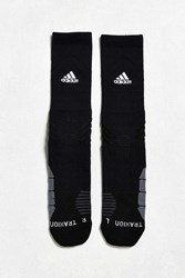 Adidas Traxion Menace Crew Sock Black