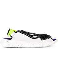 Y 3 Crisscross Sandals White