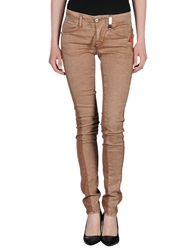High Jeans Brown