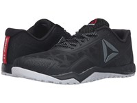 Reebok Ros Workout Tr 2.0 Stealth Black Coal White Riot Red Men's Cross Training Shoes