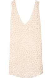 Chelsea Flower Marguerite Printed Cady Mini Dress
