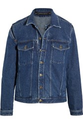 Y Project Layered Denim Jacket Dark Denim