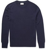 Acne Studios Jena Cashmere Sweater Midnight Blue