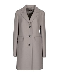 Peserico Coats And Jackets Coats Women Grey