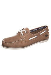 Tom Tailor Boat Shoes Camel Brown