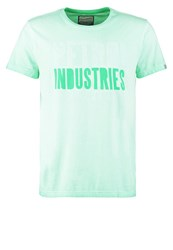 Petrol Industries Print Tshirt Mint