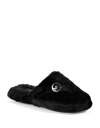 Michael Michael Kors Jet Ski Slippers Black