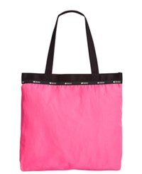 Le Sport Sac Lesportsac Simply Square Tote Snap Dragon