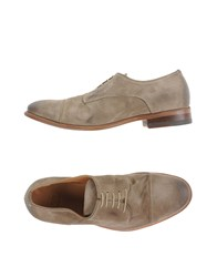 N.D.C. Made By Hand Footwear Lace Up Shoes Men Khaki
