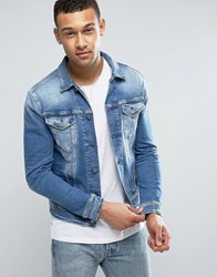 Replay Denim Trucker Jacket 33C987 Blue
