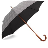 London Undercover Classic Solid Stick Umbrella Grey