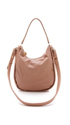 See By Chloe Bluebell Perforated Hobo Bag Nougat