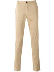 Armani Jeans Plain Chinos Nude Neutrals