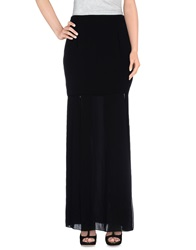 Milly Long Skirts Black