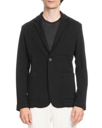 Berluti Patch Pocket Knit Blazer Noir