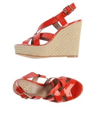 Vince Camuto Espadrilles Red