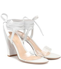 Gianvito Rossi Exclusive To Mytheresa Flavia 85 Leather Sandals White