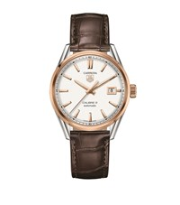 Tag Heuer Carrera Calibre 5 Automatic Watch Unisex Silver
