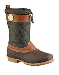 Tommy Hilfiger Arcadia Duck Boots Green