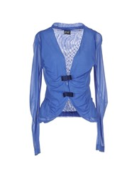 Pf Paola Frani Suits And Jackets Blazers Women Blue
