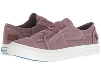 Blowfish Marley Orchid Colorwashed Canvas Flat Shoes Pink