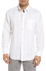 Tommy Bahama Men's Big And Tall A Linen Legend Classic Fit Linen Blend Sport Shirt White