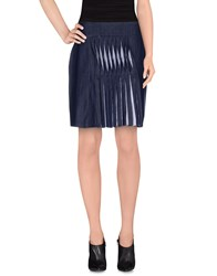 Richard Nicoll Denim Denim Skirts Women Blue