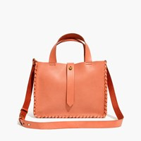Madewell The Whipstitch Mini Tote Bag Desert Sand