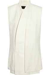 Haider Ackermann Linen And Silk Blend Vest