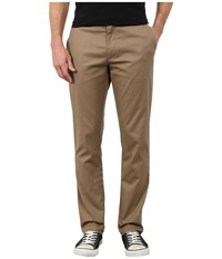 Rvca The Week End Stretch Pants Dark Khaki Men's Casual Pants
