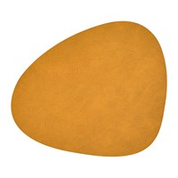 Lind Dna Hippo Curve Table Mat Curry Yellow