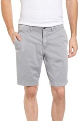 Original Paperbacks Men's St. Barts Twill Shorts Light Grey