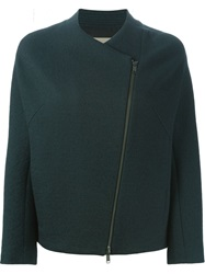 Christian Wijnants Side Zip Jacket Green