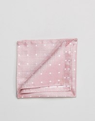 French Connection Pocket Square Pink