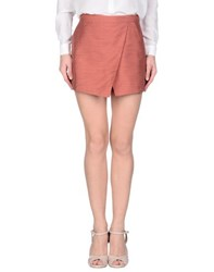 Maison Scotch Skirts Mini Skirts Women Pastel Pink