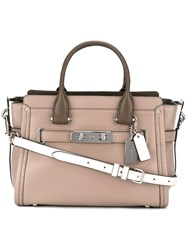 Coach Swagger Tote Nude Neutrals