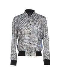 Roberto Cavalli Coats And Jackets Jackets Men White