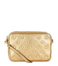 Michael Michael Kors Stud Crossbody Camera Bag Female Gold
