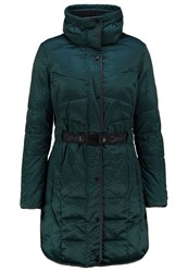 Calvin Klein Jeans Orla Short Coat Pacific Dark Green