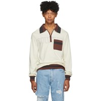Telfar Off White Medium Polo