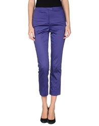 Cacharel Trousers Casual Trousers Women Purple