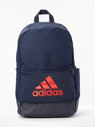 Adidas Classic Badge Of Sport Backpack Legend Ink Active Red