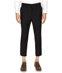 Mcq By Alexander Mcqueen Doherty Trousers 01 Darkest Black Men's Casual Pants