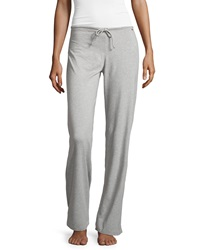 La Perla Wide Leg Drawstring Pants Gray