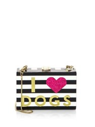 Milly I Heart Box Convertible Clutch Multi