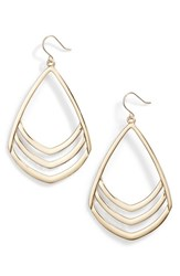 Vince Camuto Pear Drop Earrings Gold