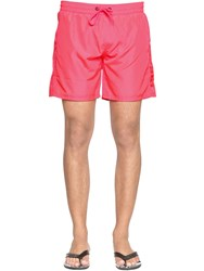 Diesel Mid Neon Nylon Swim Shorts