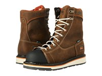 Timberland Gridworks Soft Toe Waterproof Boot Brown Full Grain Leather Men's Work Lace Up Boots