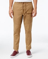 American Rag Men's Twisted Pocket Pants Only At Macy's Dull Gold